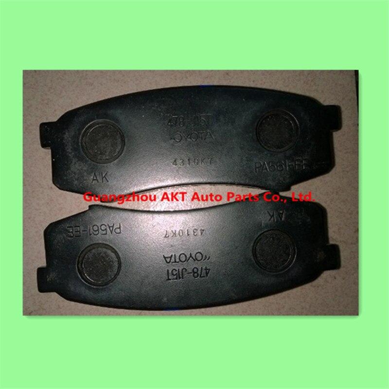 GOOD Rear brake pads for TOYOTA 4RUNNER /LAND CRUISER PRADO,for:LEXUS GX400/460 OEM:04466-60140 04466YZZC8 04466-60080 toyota rear brake pads 04466 02181 for auris blade corolla