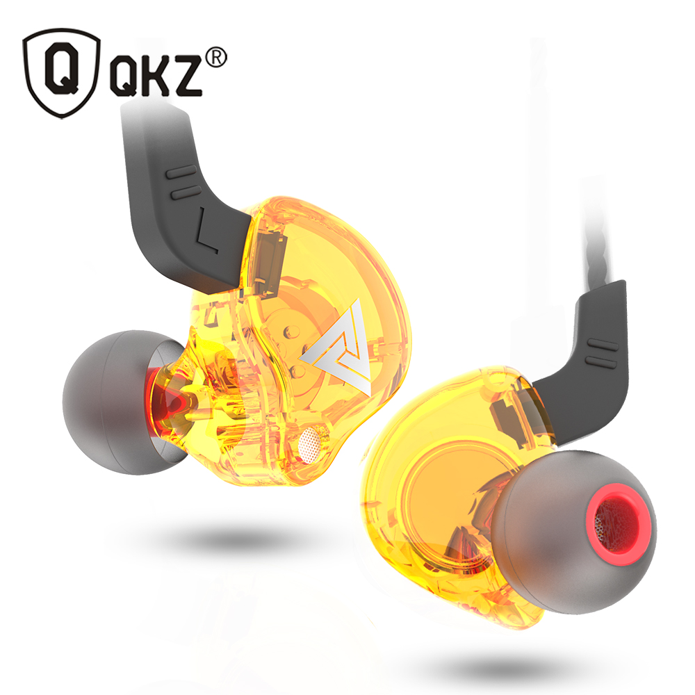 QKZ AK6 ATES ATE ATR HD9 Copper Driver HiFi Sport Headphones In Ear Earphone For Running With Microphone Headset music Earbuds image