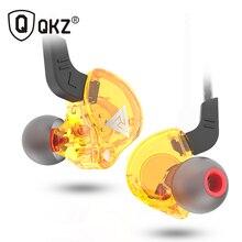QKZ AK6 ATES YEDIK ATR HD9 Bakır Sürücü HiFi spor kulaklıkları Kulak Kulaklık Için mikrofonlu kulaklık müzik kulaklıkları Ile Koşu