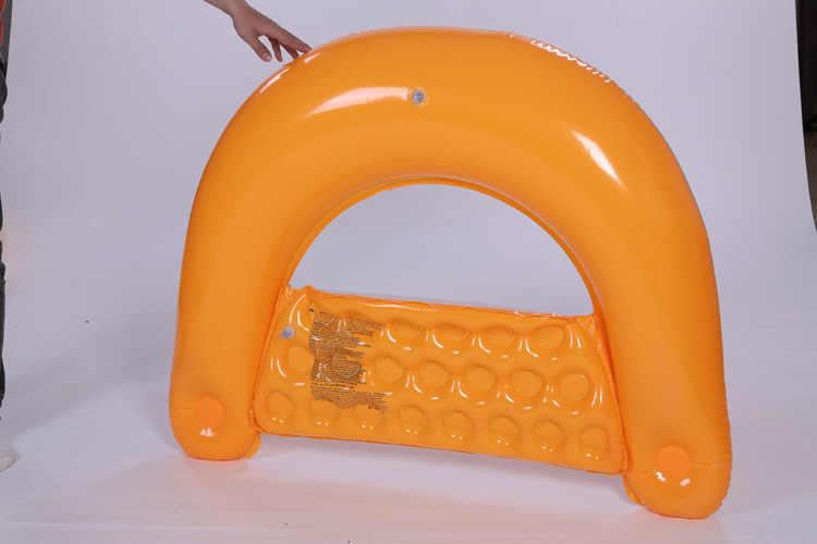 Плавающий поплавок скутер стул для взрослых детей детский бассейн воды надувные пляжные плавание Защита от солнца Лето гребное сиденье купальный круг