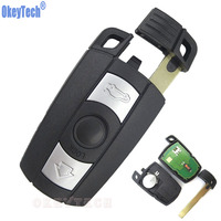 OkeyTech 3 Buttons Car Smart Remote Key Card For BMW 3 5 Series 315 315LP 433