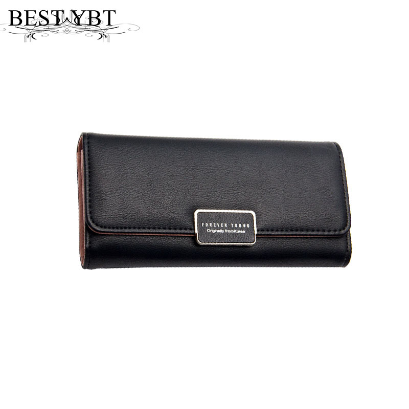 Mara's Dream 2017 Fashion Lady Bag Trifold Women Wallet Bag Popular Purse Long Bags PU Leather Handbags Card Holder Party Gift recommend women purse soft handbags card holder lady long wallet bag 7colors fashion bags wallet for wallet female wholesale