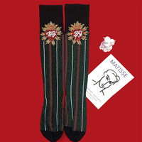 2019 Rushed Sokken Socks Japan Sale Pug Funny Calcetines Mujer Original Personality Tide Brand Vertical Stripes Love Diamonds