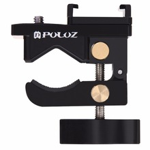 цена на Camera Crab Pliers Clip Adjustable Super Clamp Hansfree Holder Bracket for Action Cameras for GoPro hero4 Xiao yi SJ4000/SJ5000