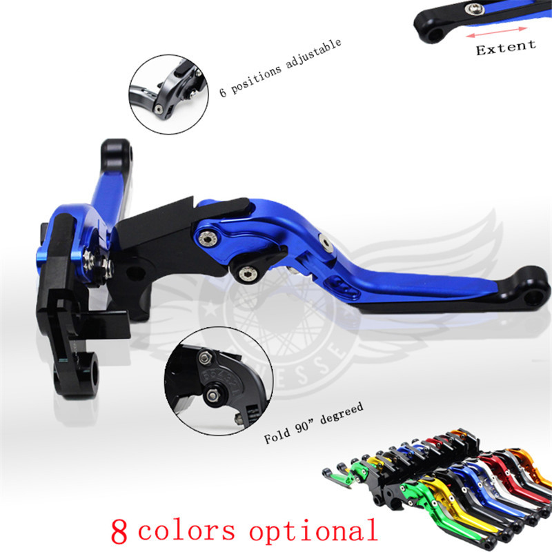 ФОТО adjustable motorcycle brake clutch levers for Suzuki GSX1250 F/SA/ABS 2010-2016 GSF1250 BANDIT 2007-2015 GSF1200 BANDIT 2001-06