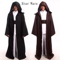 Adults Kids STAR WARS JEDI SITH Hooded Cape Cloak Costume Halloween Cosplay Robe 1PCS