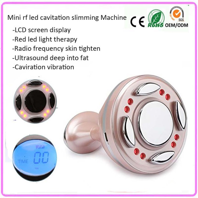 Sonic Vibration RF Red Light Infrared Fat Burn Weight Loss Wrinkle  Cellulite Reduction Body Slimming Machine