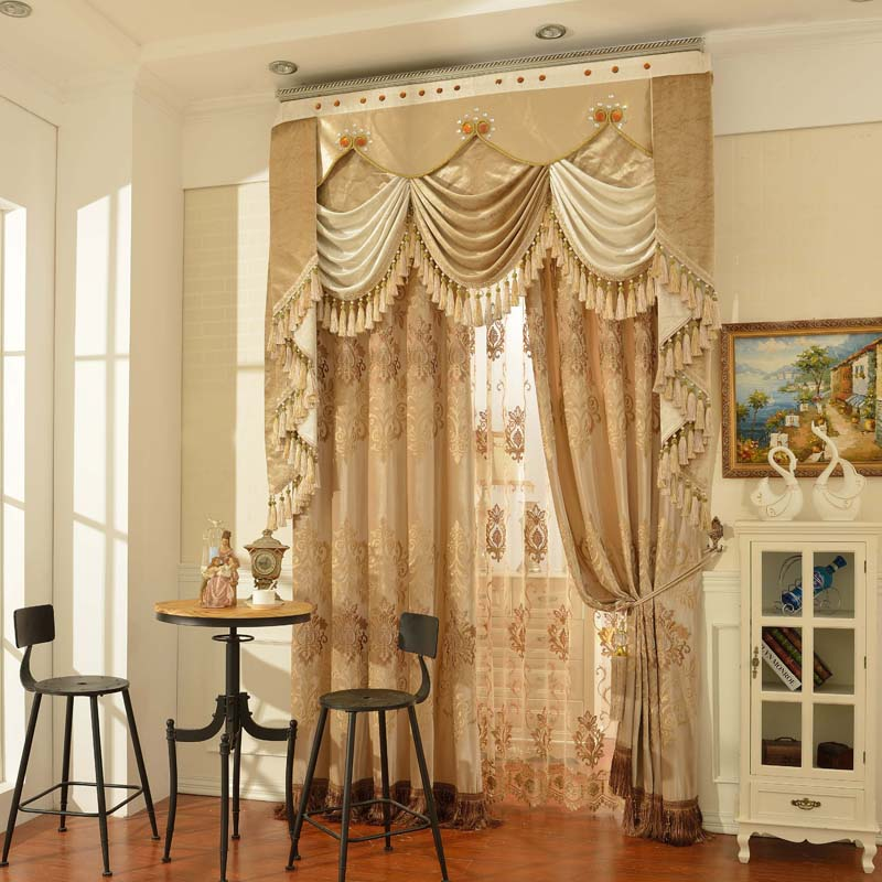 2016 new arrival curtains for living room cortina blackout curtains