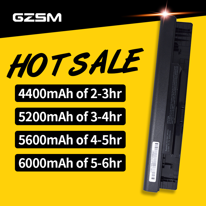 GZSM Laptop Battery For Dell For Inspiron 1464 1564 1764 05Y4YV Battery 0FH4HR 451-11467 5YRYV 9JJGJ JKVC5 NKDWV TRJDK Battery