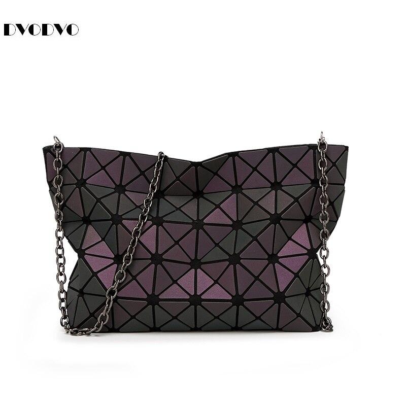 Bao Bao ordinaire pliant sacs à main dames géométrique paquet messenger sac de mode tendance sac à bandoulière diamant brillant forme baobao
