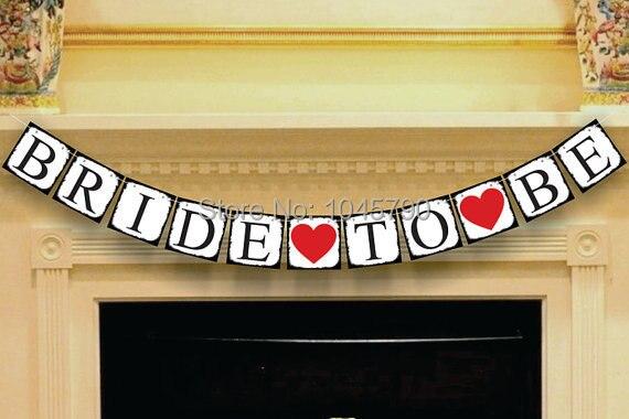 1 x To be Bride Свадьба Бантинг Баннер девичник знак Свадебная вечеринка украшения поставки