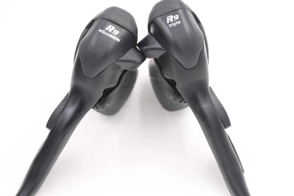 MicroNEW Sb R493 9 Speed Road Bike Bicycle STI Shifters Brake Lever 3x9 for Shimano Brake