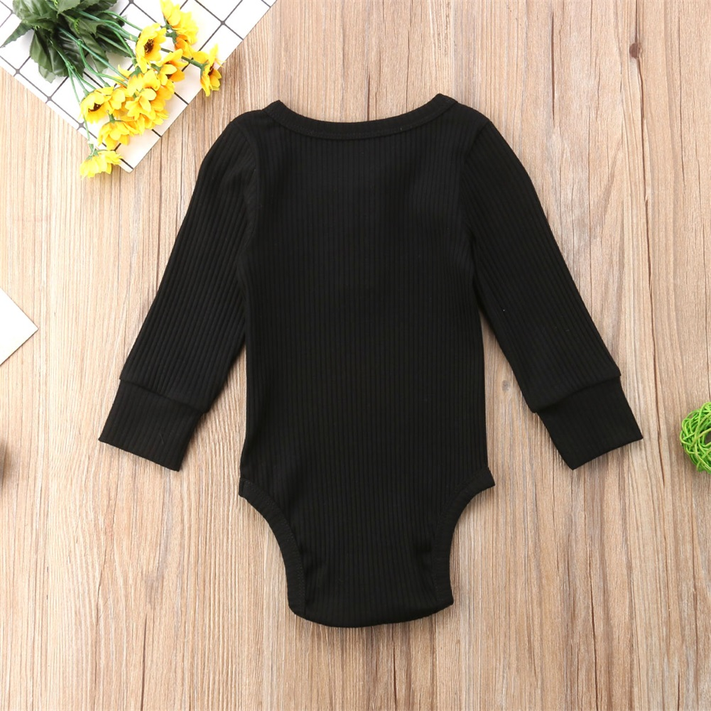 Exquisite Baby Boy Rompers Clothes Long Sleeve Heart Elk Pattern Jumpsuit Outfit