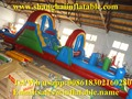 Customized Inflatable slides obstacle playground factory outlet