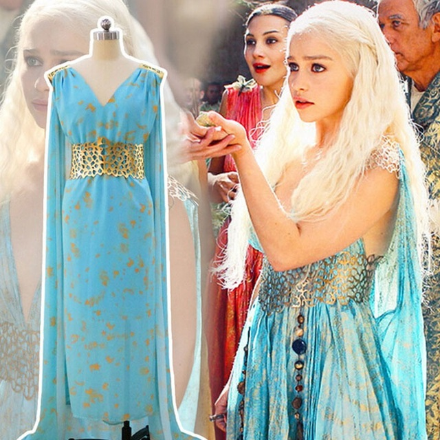 A Song Of Ice And Fire Game Of Thrones Halloween Costume Wig Dragon