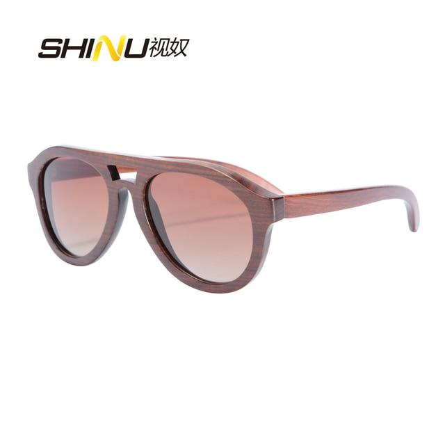 2679b3ad84baa Excelente Piloto Polarizada Condução Óculos De Sol Das Mulheres Dos Homens  Puramente Artesanal Óculos De Sol