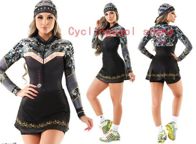 2019 pro equipe triathlon terno feminino camisa de ciclismo saia skinsuit macacão maillot ciclismo ropa ciclismo conjunto 082 2