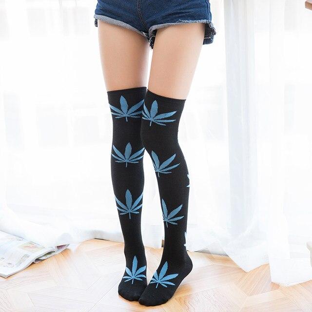 Pantyhose hot weed