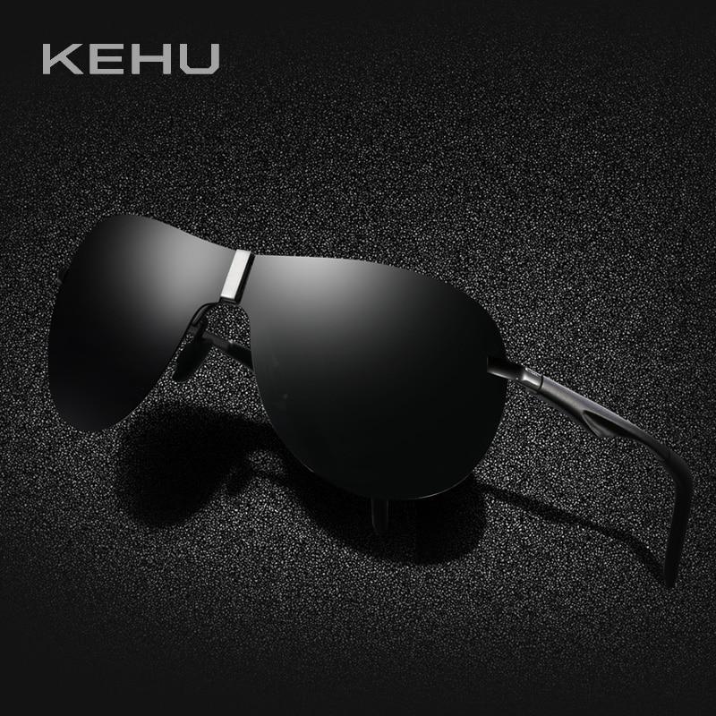 KEHU Män Polariserad Solglasögon Integrerad Borderless Eyeglasses - Kläder tillbehör