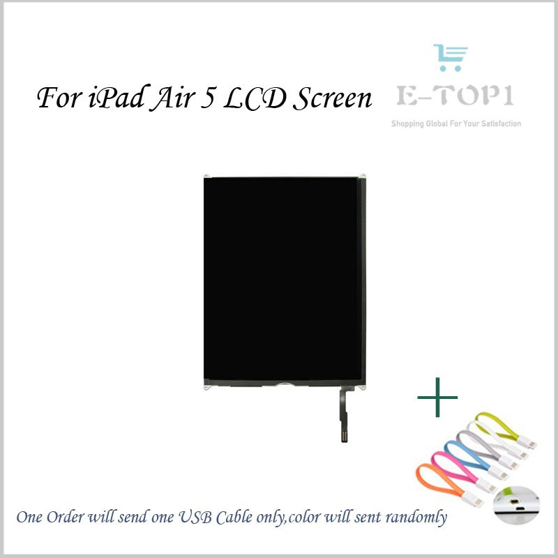 ФОТО High Quality 9.7'' inch For iPad 5 air LCD Display Panel Screen Repairment Parts Tablet Pc Free Shipping