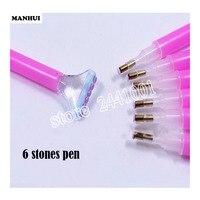 Wholasale Efficient Diamond Painting Tool Pen Useful Diamond Drawing DIY Accessory Tool Double Headed Pen TOOL002