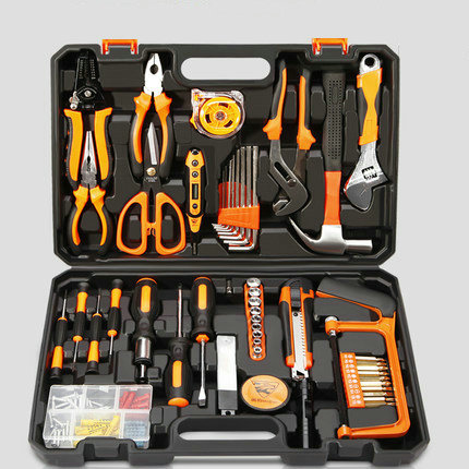 Special price multifunctional portable electrician repair tool kits, household maintenance DIY use home assembly tool kit multifunctional home tool portable sewing kit