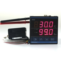 New TDK 0302LA Constant Humidity Temperature Controller 220V LED Display Thermometer Hygrometer Controller