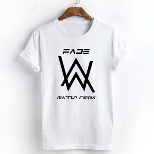 7264c86a0 Alan walker faded T-shirts summer t-shirt alan walker t shirt homme t  shirts men hip hop alan walker shirt