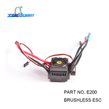 цены RC CAR SPARE PARTS ACCESSORIES E200 BRUSHLESS ESC FOR SUPERCAR 1/10 ELECTRIC POWERED 4WD OFF ROAD BUGGY TRUGGY TRUCK