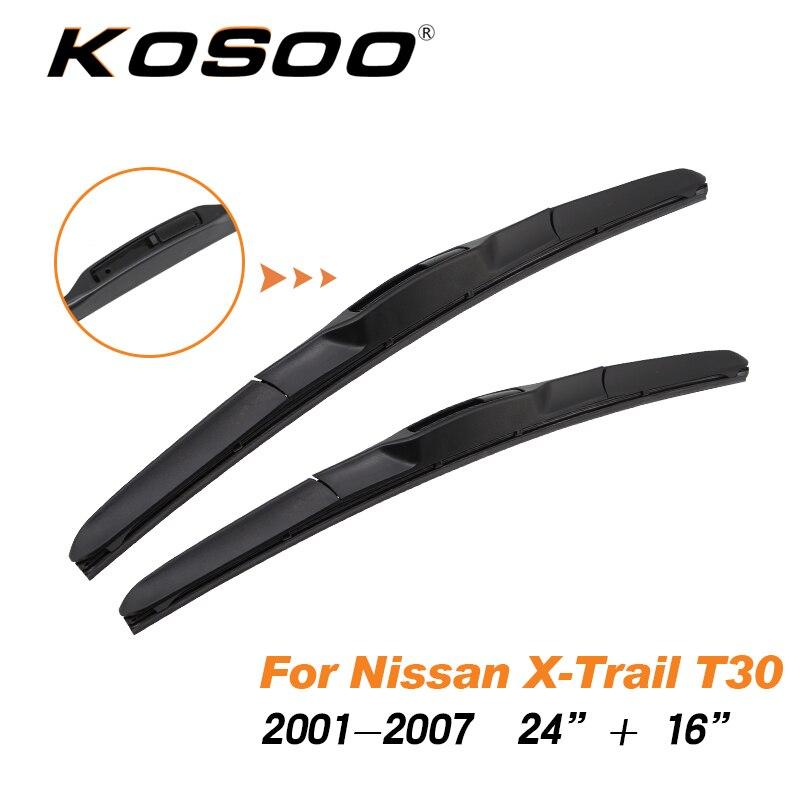 Rear Windshield Wiper Arm Blade Set Fit For Nissan X-TRAIL 2008-2013 350mm