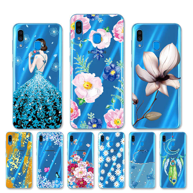 Case For Samsung Galaxy A30 Phone Case Samsung Galaxy A10 Cover Samsung Galaxy A50 A 50 A 30 A10 Case Back Cover Silicone Soft