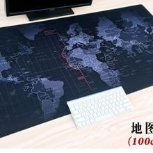 WESAPPA 100 см x 50 см XXL большой коврик для мыши геймерский коврик для мыши Коврик для клавиатуры офисный стол Подушка домашний декор Estera цельный аниме карта