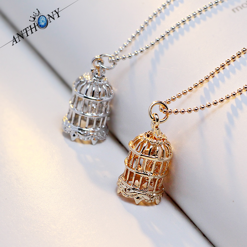 Fashion retro style metal cage cute bird cage pendant statement fashion retro style metal cage cute bird cage pendant statement jewelry vintage birdcage necklace mka56 in pendant necklaces from jewelry accessories on mozeypictures Image collections