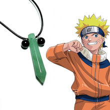Takerlama Anime Naruto Uzumaki Uchiha Itachi Senju Tsunade Necklace Pendant Cosplay Props Fashion Cool Necklace Gift On Sale(China)