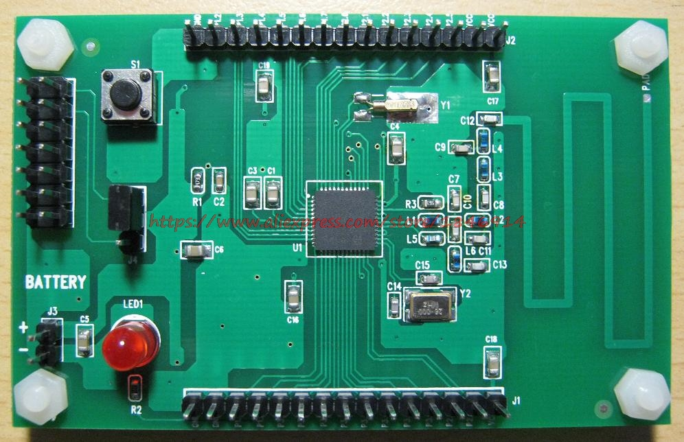 Free Shipping    CC430F5137 Development Board 433MHZ CC430 Wireless Development Board MSP430F5137