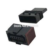 6 Pin black plastic parts automotive plugs harness connectors terminal connector DJ7067-1.5-11/21 6P