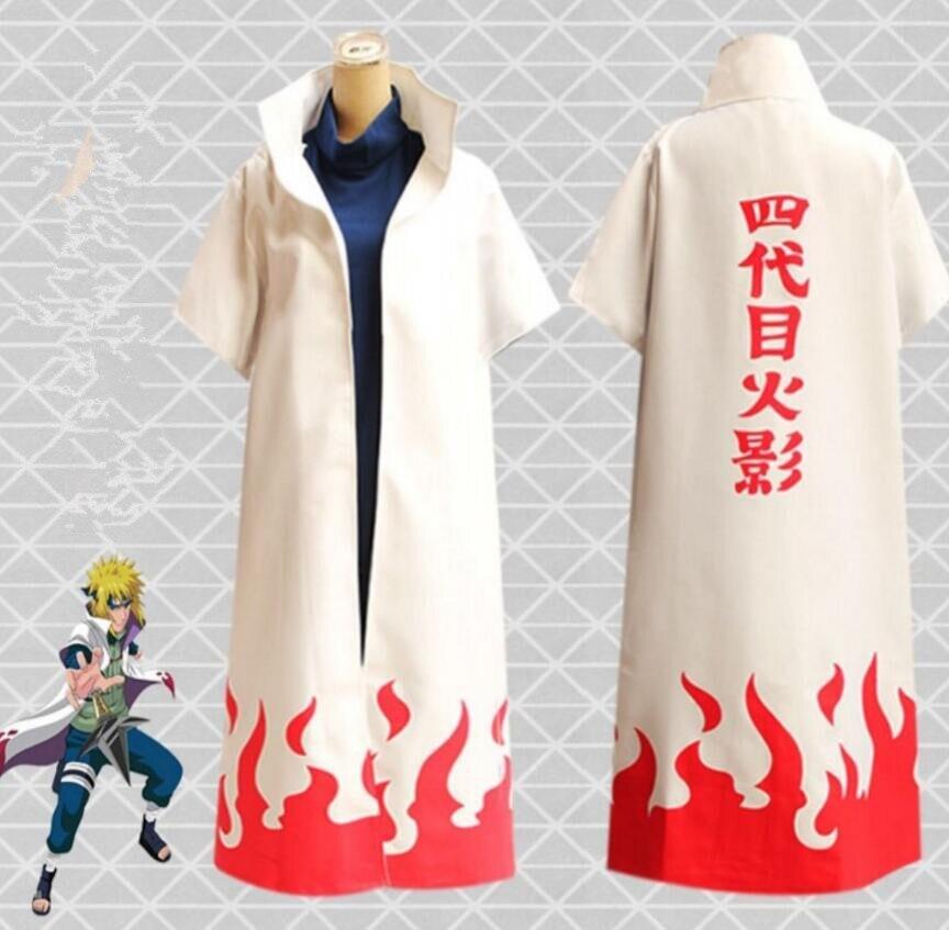 N aruto Hokage Hatake Kakashi party Cosplay high quality cloak uniform