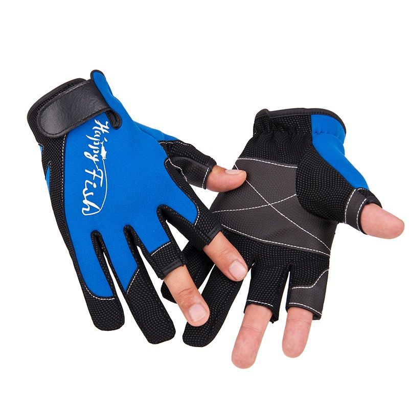 Neoprene winter fishing gloves for fishing hunting gloves for Winter fishing gloves