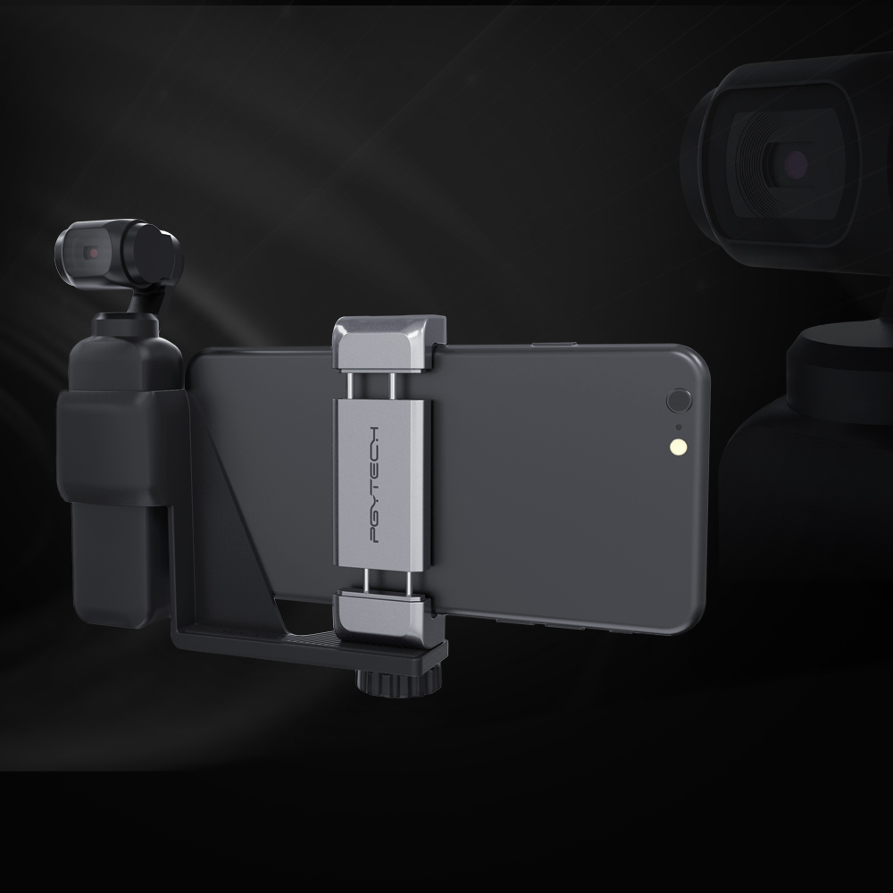 Image 5 - PGYTECH DJI OSMO Pocket Phone Holder Set for DJI OSMO Pocket Handheld Gimbal Holder Bracket Accessories-in Gimbal Accessories from Consumer Electronics