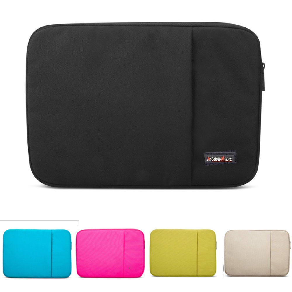 Saco do caderno Para Lenovo Dell HP Asus Acer Mac Macbook Air Pro 11 12 13 15.4 polegada Laptop Sleeve Carry saco Da Tampa Do Caso