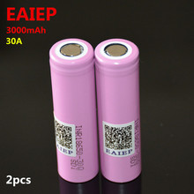 EAIEP brand 30Q for  TCR18650-30Q  3000mAh battery lithium battery inr18650 powered rechargeable battery цена
