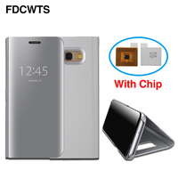 FDCWTS Flip Cover Leather Case For Samsung Galaxy S7 Edge S7 G930F G935F Phone Case Smart
