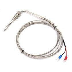 K tipo 2m egt termopar WRNK-291 sonda de escape-tipo sensores de alta temperatura roscas de aço inoxidável