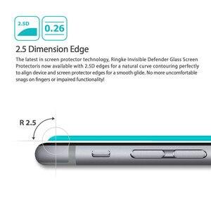 Image 3 - עבור Lenovo לימון A6000 6010 מזג זכוכית מסך מגן 0.26MM 9H 2.5D בטיחות מגן סרט על A6010 A6000 l 6000 בתוספת