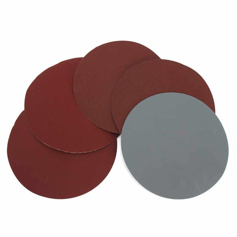 25 Buah/Set 6 Inci 150 Mm Bulat Amplas Disk Pasir Lembar Grit 600-3000 HOOK LOOP Sanding Disc untuk sander Bubur Jagung Alat Abrasif