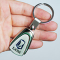 Metal LADA Logo Car Key Chain Keychain Auto Key Ring Car Keyring Holder Styling for LADA Granta Priora Kalina Samara Niva Largus