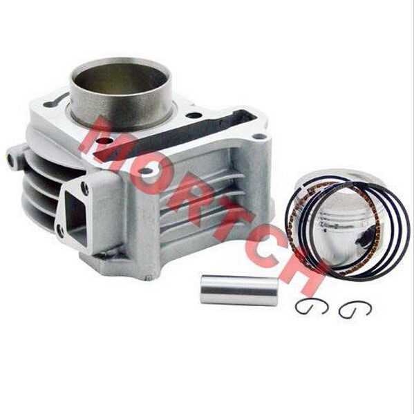 Chinese scooter GY6 parts GY6 150cc Cylinder Assy (57.4mm) for Scooter ATV Go Karts Moped MIGY150-3003