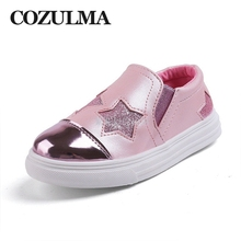 COZULMA New Brand Spring Autumn Children Sneakers Boys Girls Star Casual Shoes Baby Toddler Pu Leather For