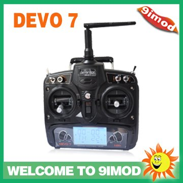 ФОТО Walkera  transmitter 24Ghz  DEVO 7  remote control
