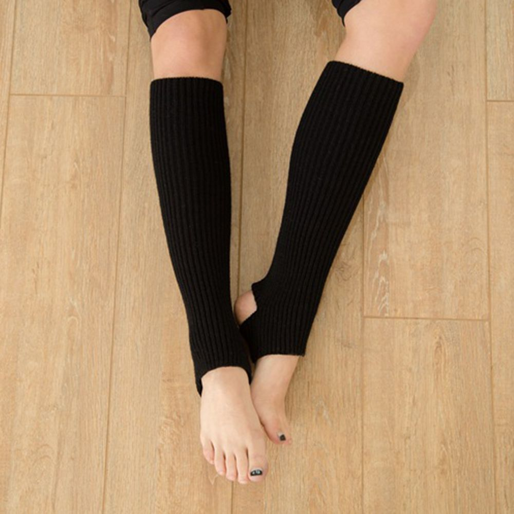 Woman Yoga Long Socks Gym Fitness Dancing Sock Female Daily Wear Knitting Sock Exercising Warm Latin Long Section